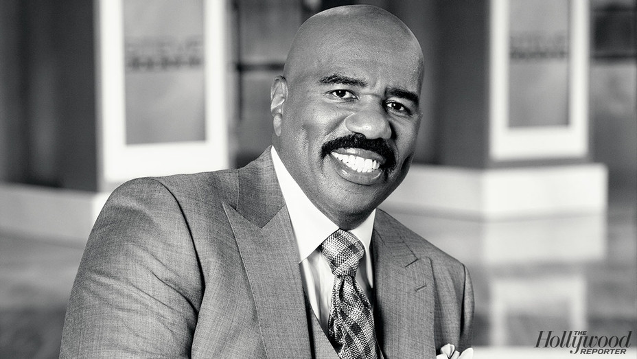 Steve Harvey - Photographed by Tim Klein - H 2017