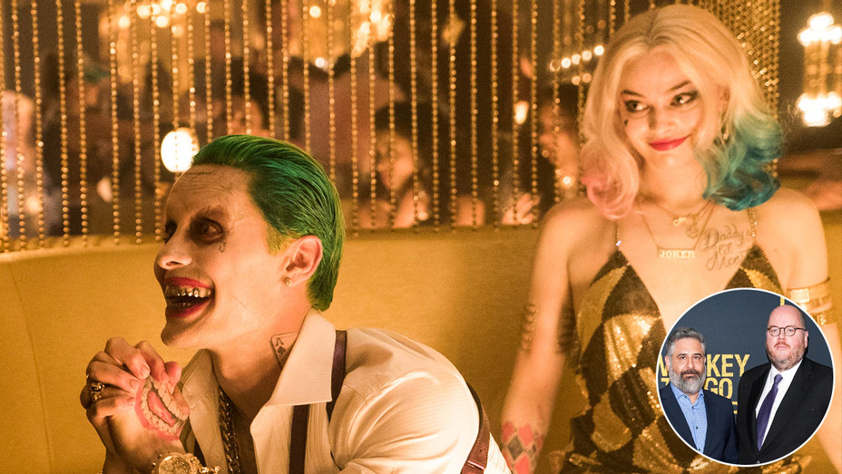 Suicide Squad Still, Glenn Ficarra and John Requa - Inset - Split - Getty - H 2017