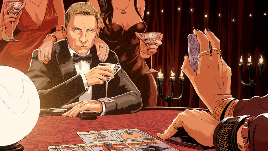 Daniel Craig James Bond - Illustration - H 2017