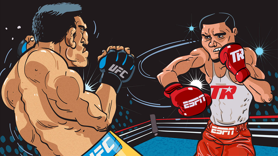 Disney -Boxing -Illustration by Remie Geoffroi - H 2017