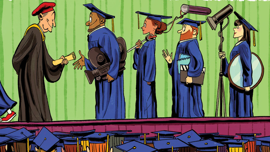 The Top 25 American Film Schools - Illustrations by Zohar Lazar - H 2017