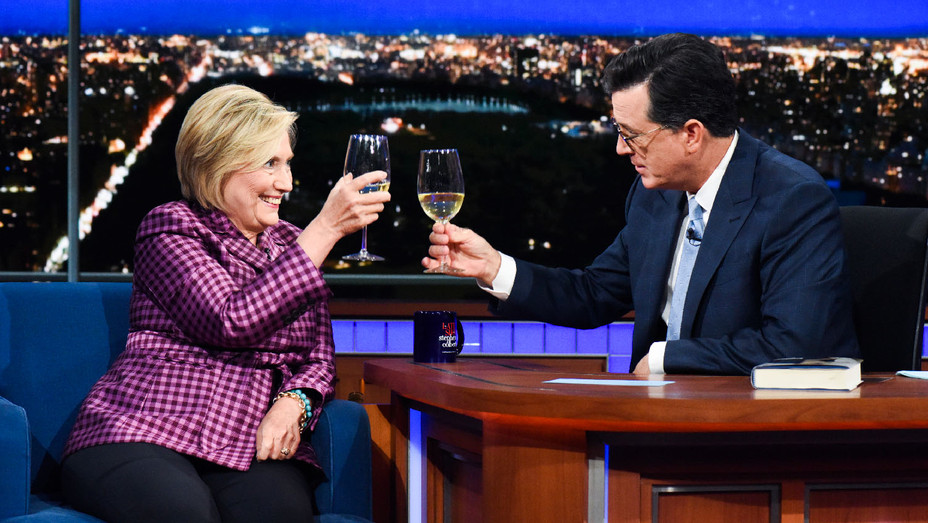 The Late Show with Stephen Colbert Still Hillary Clinton - Publicity - H 2017
