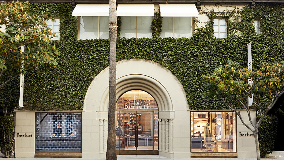 THR Retail Reporter - Berluti Store Front- Publicity -EMBED 3- 2017