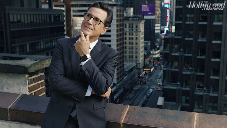 "Stephen Colbert Caps Comeback Year Hosting Emmys: ""I Just Wanted to Do Jokes"" (Q&A)"
