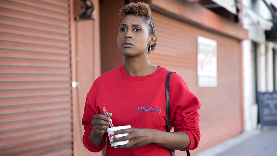 Insecure- Episodic Episode - Issa Rae -RED Sweatshirt - Publicity-H 2017