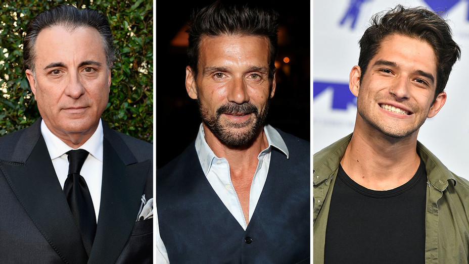 Andy Garcia, Frank Grillo and Tyler Posey_Split - Getty - H 2017
