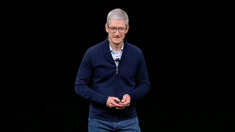 Apple Event September 12, 2017 -Tim Cook - Screen shot 1-H 2017