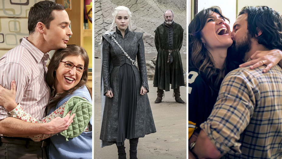 Big Bang Theory-Game of Thrones-This is Us - Publicity-H 2017