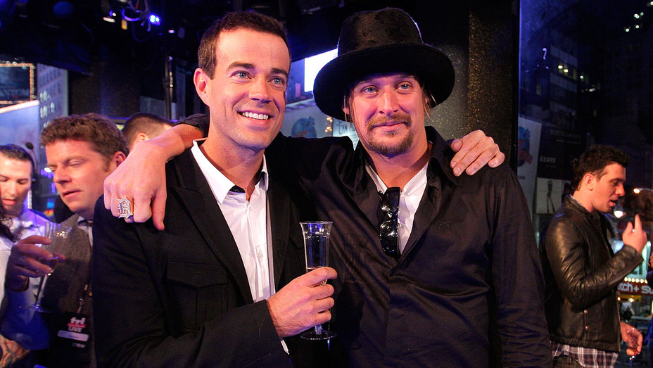 Carson Daly and Kid Rock - November 16, 2008 - Getty-H 2017
