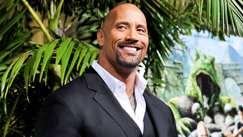Dwayne Johnson - Journey 2: The Mysterious Island Carpet - Getty - H 2017