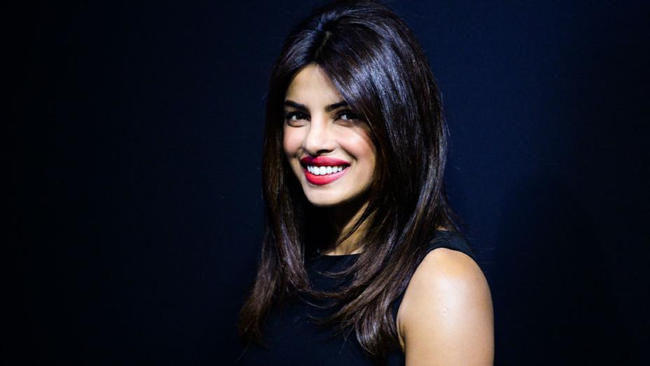 Priyanka Chopra - 2014 Mary Kom Press Conference TIFF - Getty - H 2017