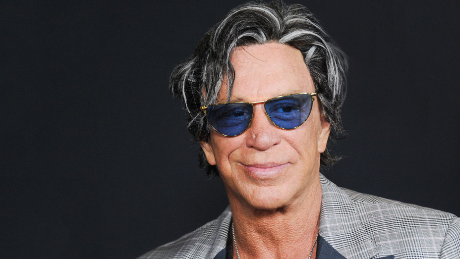 Mickey Rourke - Triple 9 Premiere - Getty - H 2017