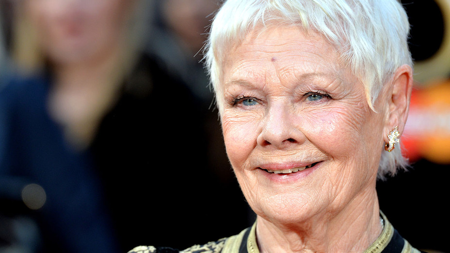 Judi Dench attends The Olivier Awards - Getty-h 2017