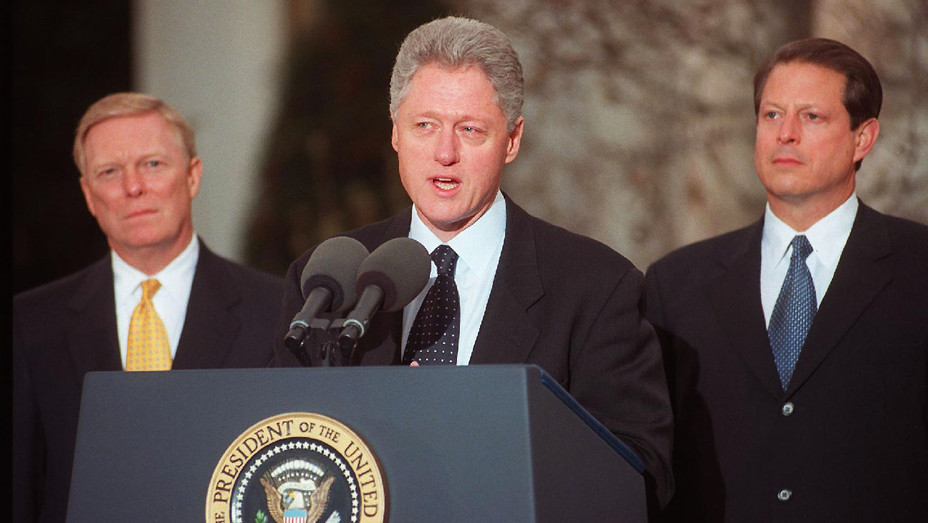 Bill Clinton Impeachment December 19 1998 - Getty - H 2017