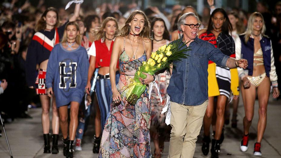 Gigi and Designer Tommy Hilfiger runway - NY Fashion Week February 2017-Getty-H 2017