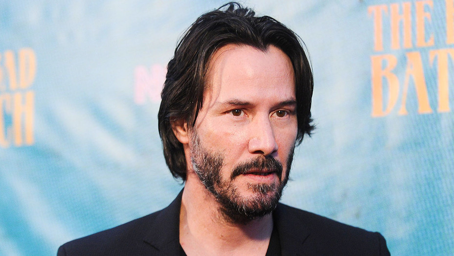 Keanu Reeves - The Bad Batch Carpet - Getty - H 2017