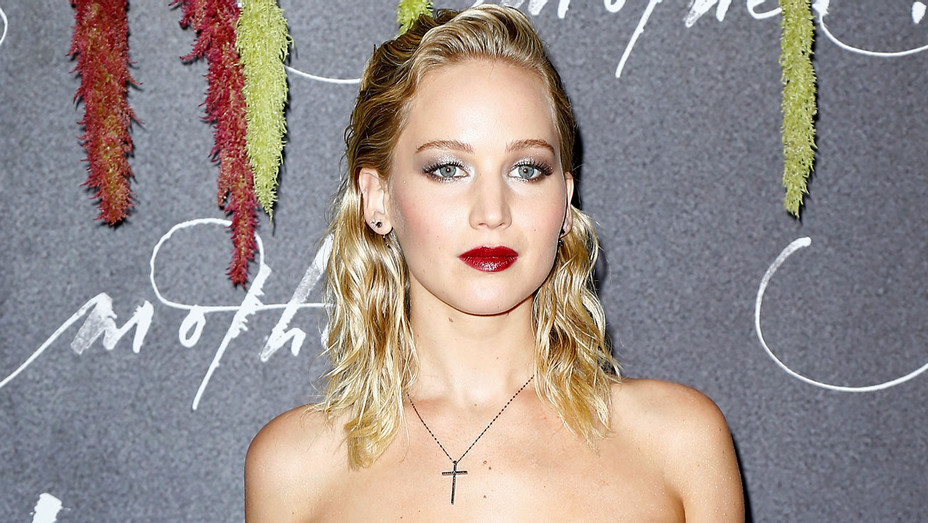 Jennifer Lawrence- French Premiere of Mother! - Getty -H 2017