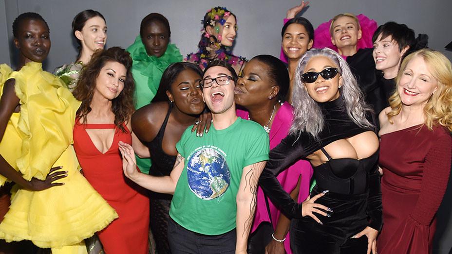 Christian Siriano fashion show backstage -New York Fashion Week -Getty-EMBED 2017