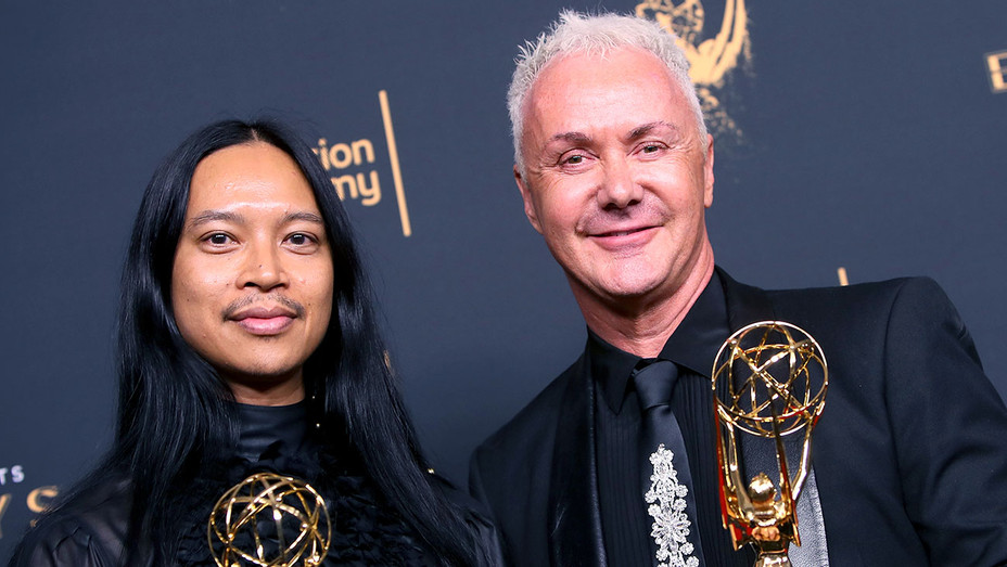 Zaldy Goco and Perry Meek -Outstanding Costumes- 2017 Creative Arts Emmy Awards -Getty-H 2017