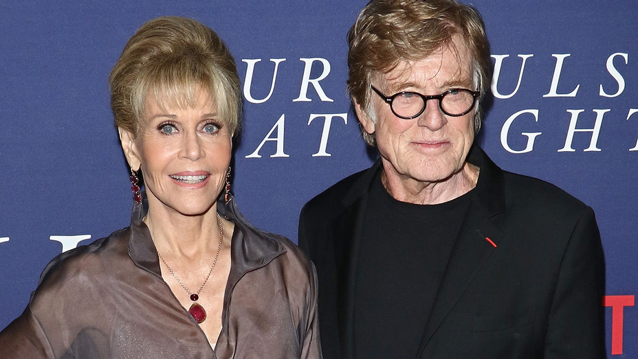 Jane Fonda Robert Redford Our Souls at Night - Getty - H 2017