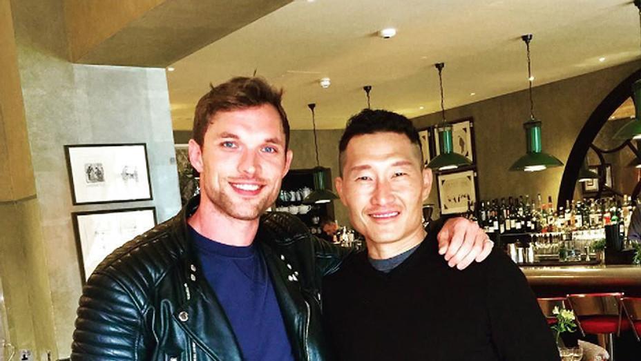 Hellboy's Daniel Dae Kim Meets With Ed Skrein Instagram Screen Shot - SQ 2017