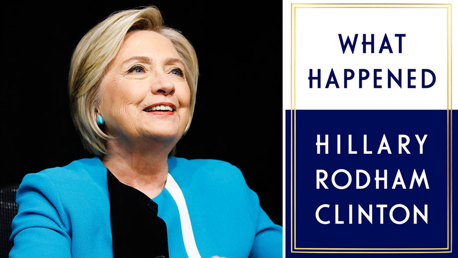 Hillary Clinton and What Happened Cover - Split - Getty - H 2017