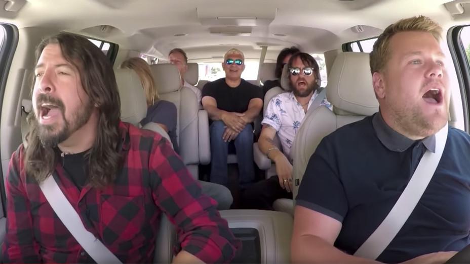 James Corden Foo Fighters - Screengrab - H 2017