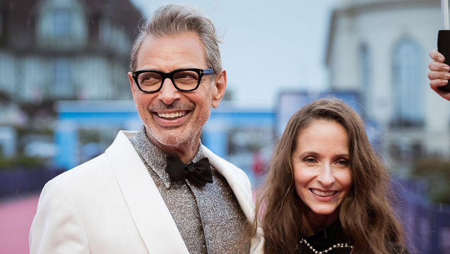 Jeff Goldblum and wife Emilie Livingston - Deauville - H Getty 2017