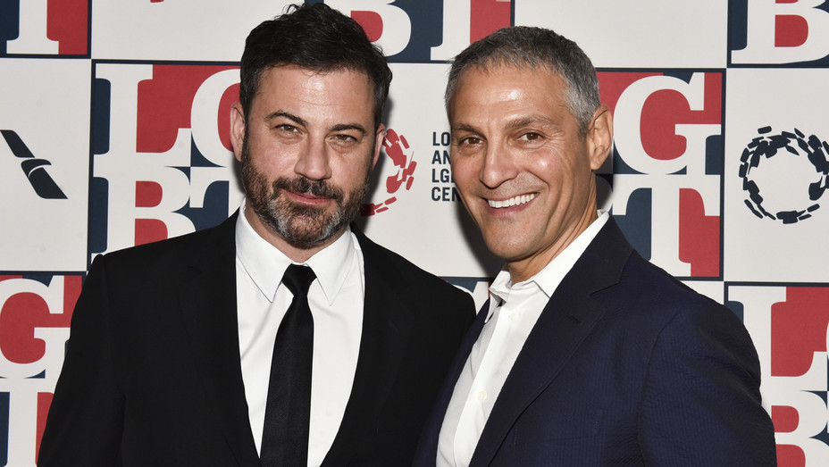 Jimmy Kimmel Ari Emanuel - Getty - H 2017