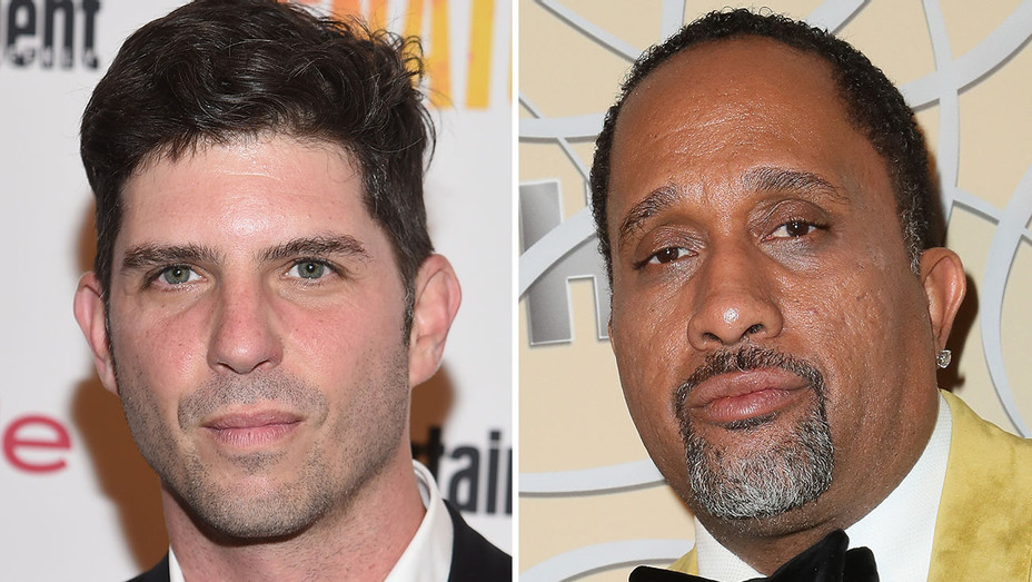Jonathan Levine and Kenya Barris_Split - Getty - H 2017
