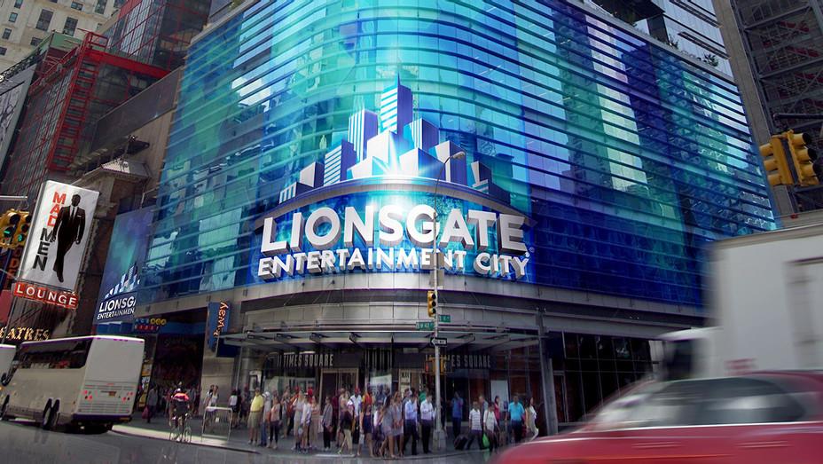 Lionsgate Entertainment City - Times Square- Publicity -H 2017