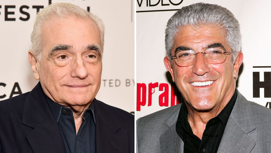 Martin Scorsese and Frank Vincent - Split - Getty - H 2017