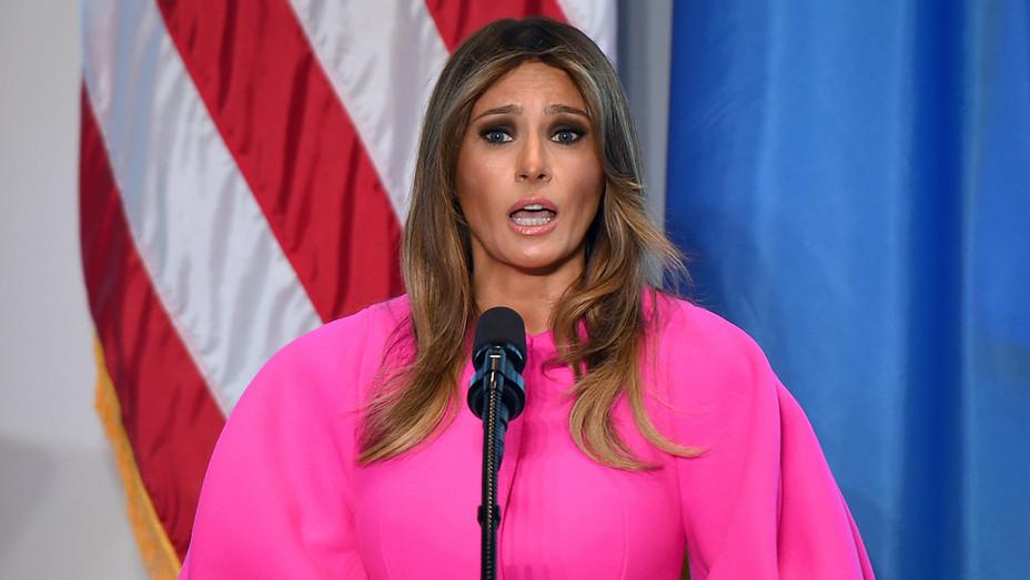 Melania Trump U.N. Speech 1 - Getty - H 2017