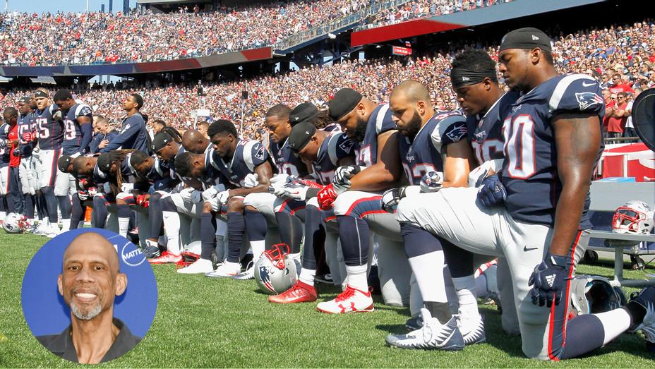 NFL protests Kareem Abdul Jabbar - Getty - INSET 2017