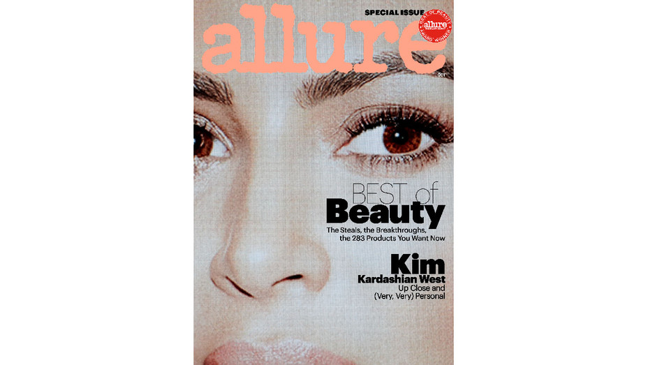 Allure October Cover Special Issue Kim Kardashian - Publicity - H 2017