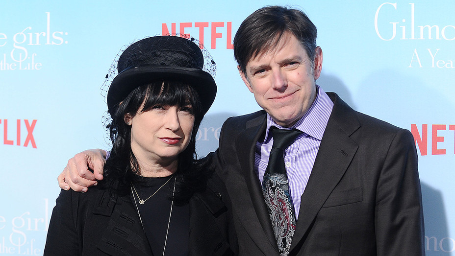 Amy Sherman-Palladino and Daniel Palladino - Getty - H 2017