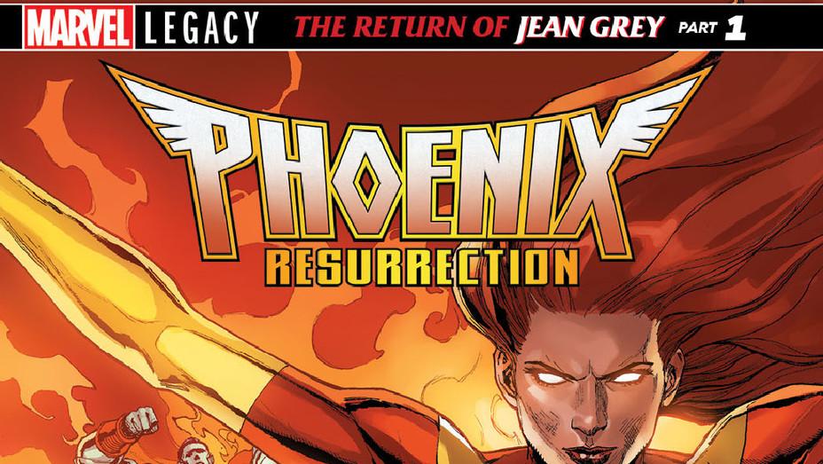 Phoenix Resurrection Cover - Publicity - P 2017