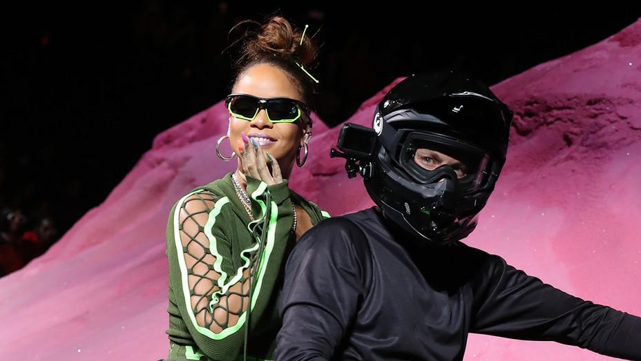Rihanna Fenty Puma SS18 - Getty - H 2017
