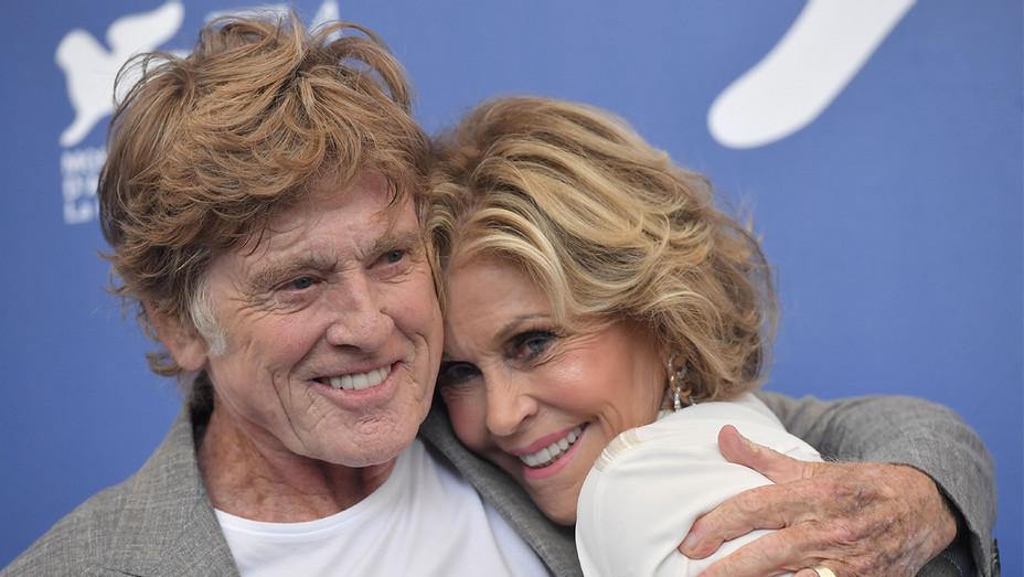 Robert Redford Jane Fonda Venice Getty H 2017