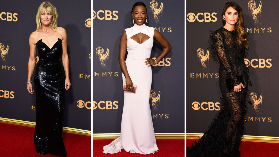 Robin Wright, Samira Wiley and Keri Russell - Split - Getty - H 2017