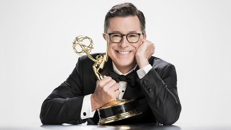 Stephen Colbert Emmy - Publicity - H 2017