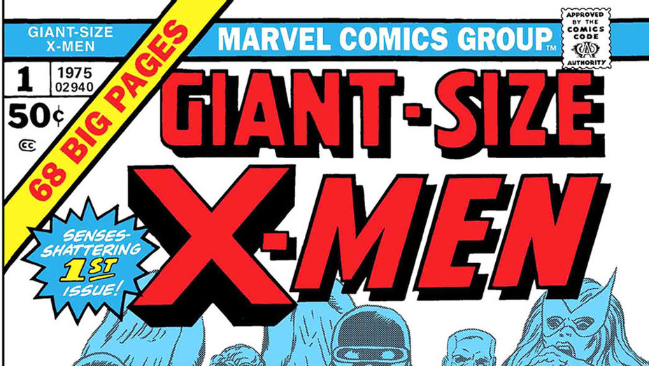 Giant-Size X-Men Cover - Gil Kane Marvel Entertainment - Publicity-P 2017