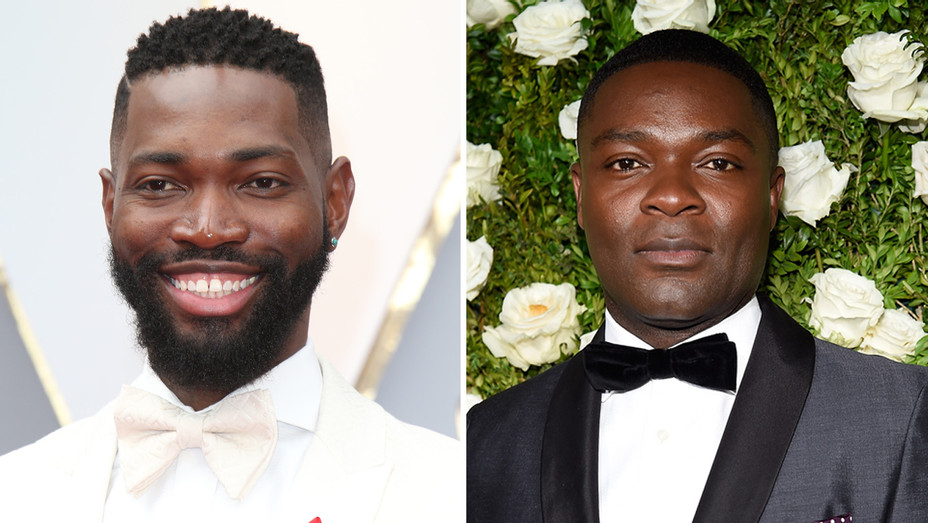 Tarell Alvin McCraney and David Oyelowo - Getty - H Split 2017