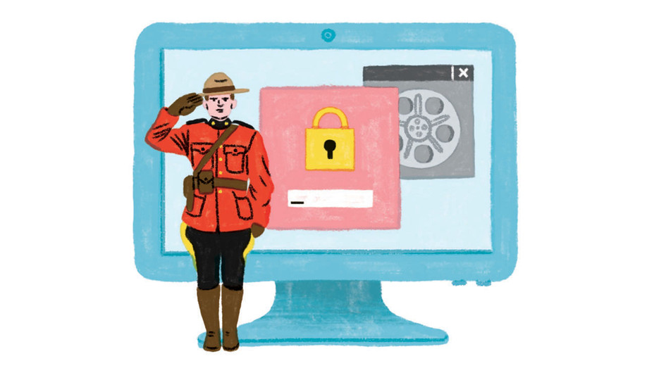 Toronto Film Fest Ramping Up Cybersecurity - Illustration by Katie Carey -H 2017