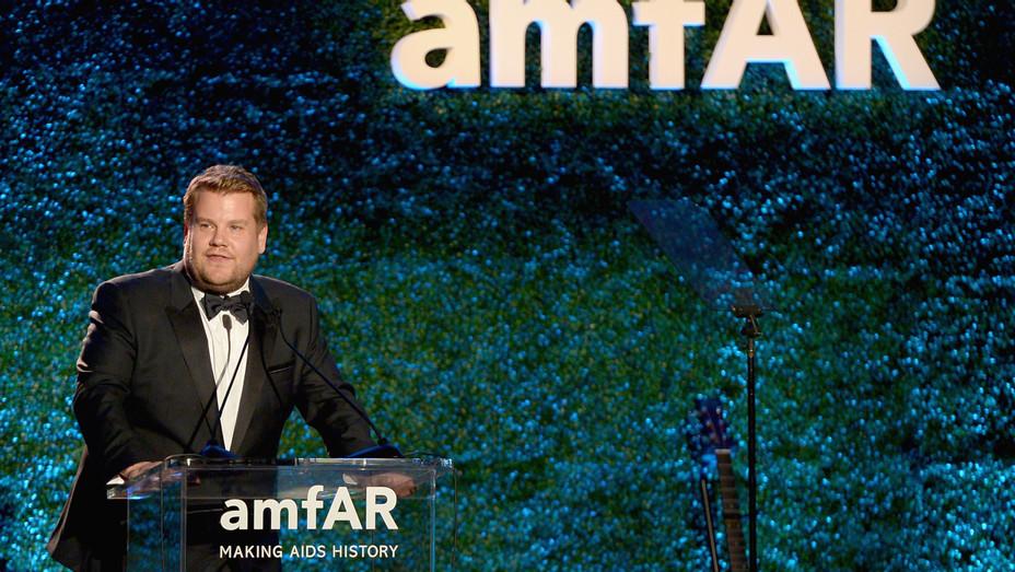 James Corden at amfAR Gala - H Getty 2017