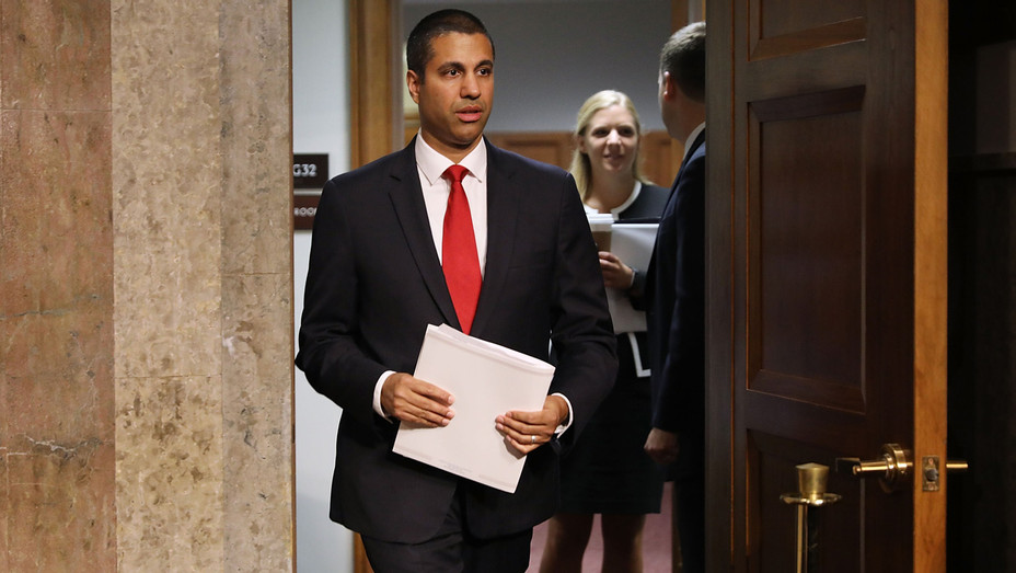Ajit Pai FCC Chairman - Getty - H 2017