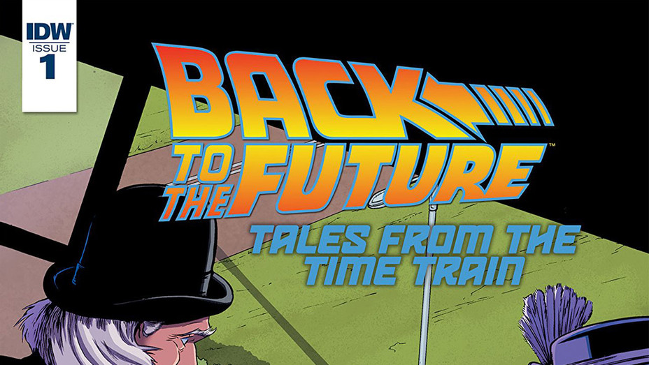 Back to the Future Time Train - Publicity - P 2017