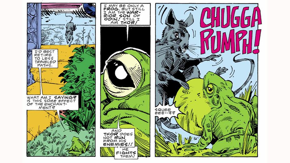 Frog Thor - Walter Simonson/Marvel Entertainment - Publicity-H 2017