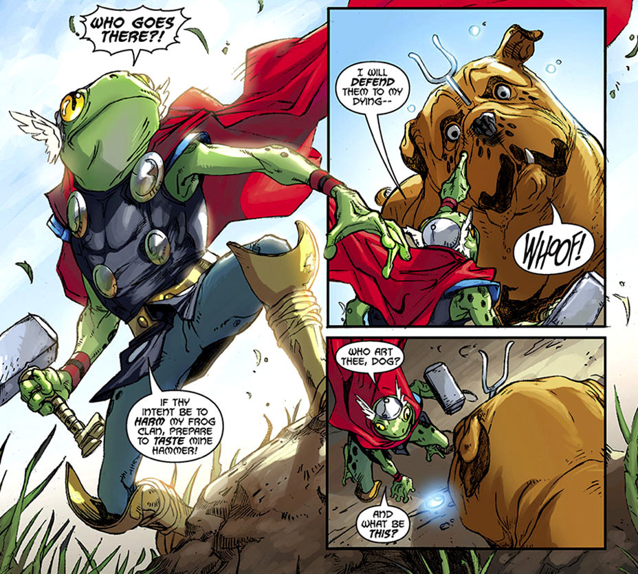 Frog Thor - Ig Guara/Marvel Entertainment - Publicity-EMBED2- 2017