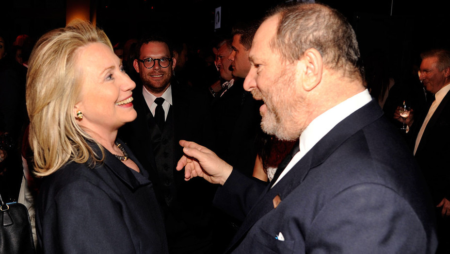 Hillary Clinton Harvey Weinstein TIME 100 - Gettty - H 2017